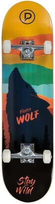 "PLAYLIFE SKATEBOARDS Firce Wolf 31""x 8"