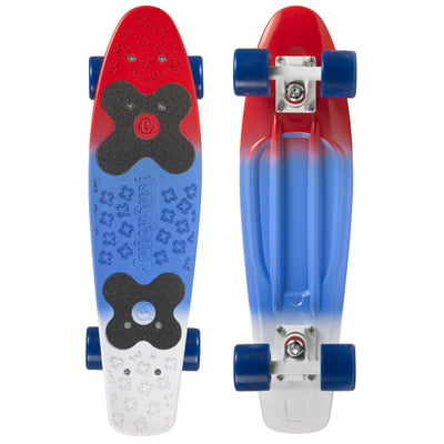 "CHOKE SKATEBOARDS Juicy Susi 22,5""x6, red blue"