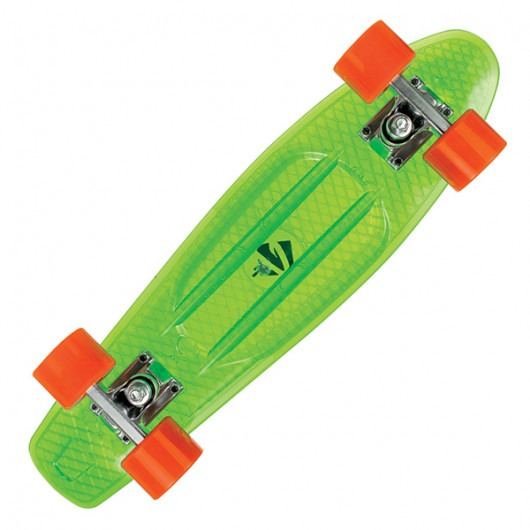 CHOKE SKATEBOARDS Juicy Susi clear green