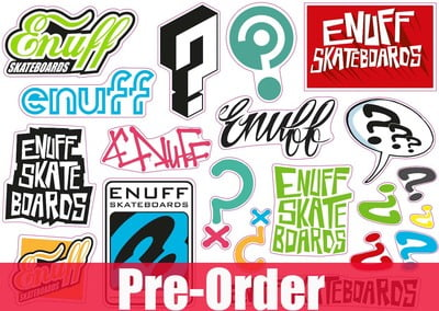 Enuff Sticker Sheet
