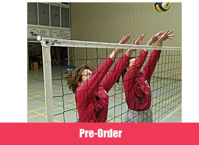"Volleyball Training net ""Exclusive"", Polypropylene 2.3 mm, reinforced all round"