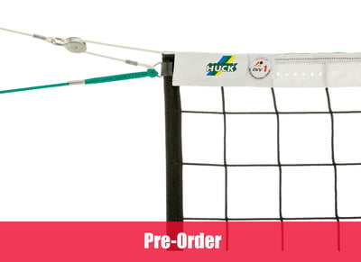 Volleyball tournament net in Polypropylene 3 mm dia. with tension pulley