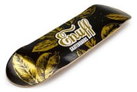 Enuff Gold Leaf Deck - Black/Gold