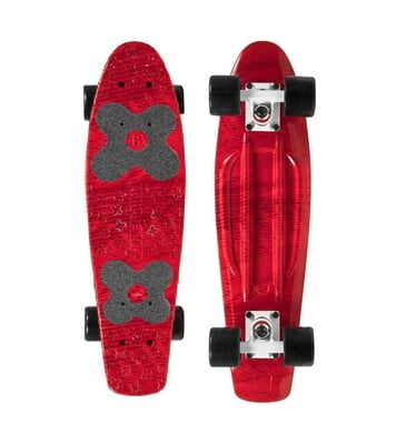 "CHOKE SKATEBOARDS Juicy Susi Elite 22,5""x6, Red Zora"